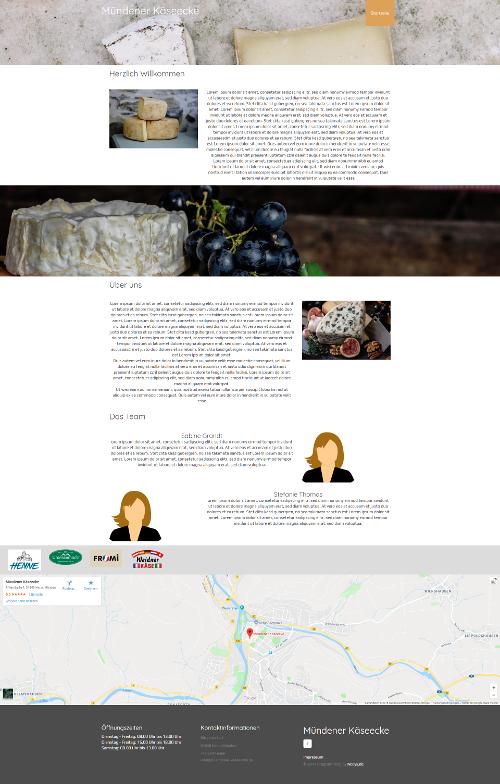 Eine Web-Visitenkarte für Sie und Ihr Unternehmen